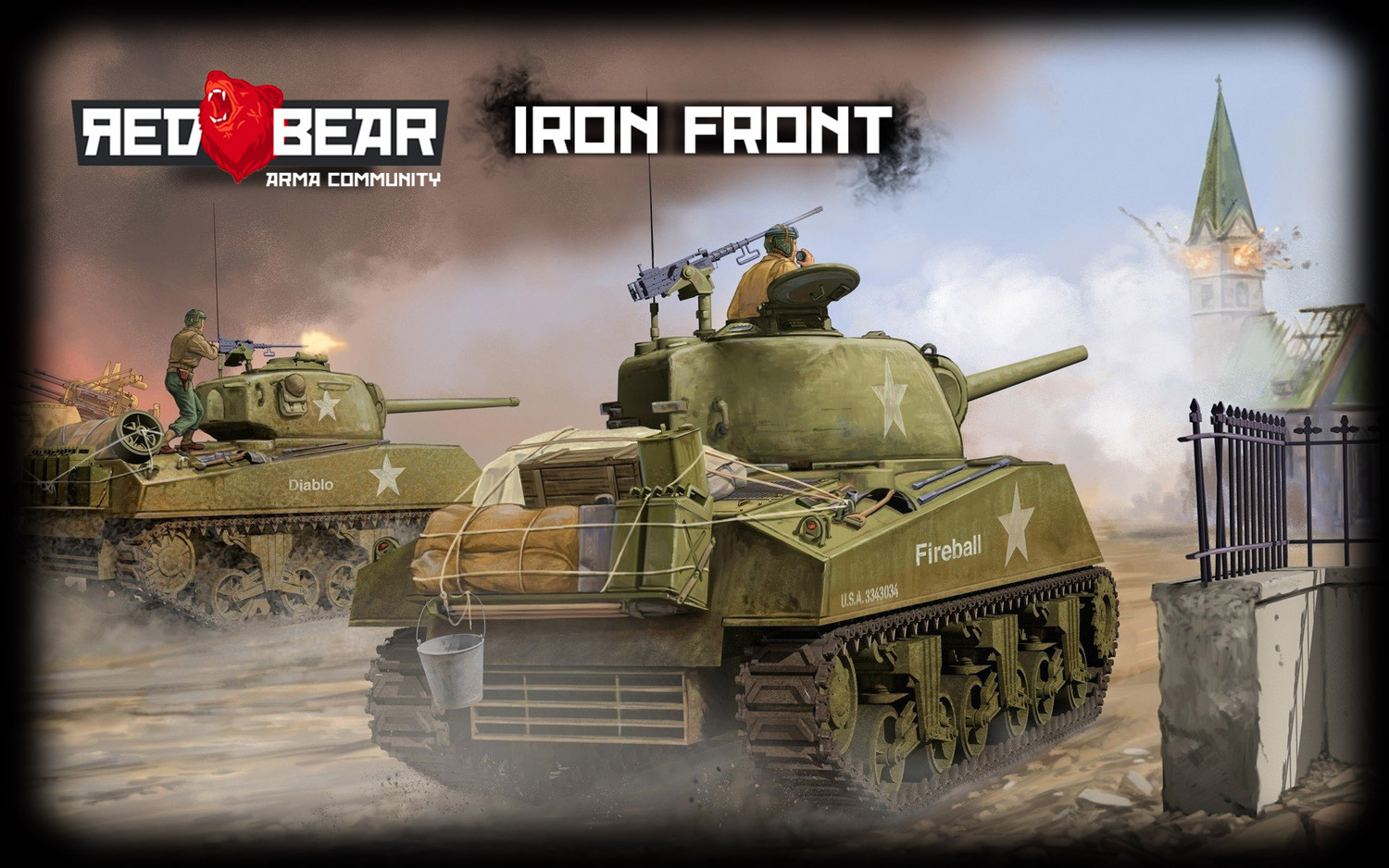 RED BEAR IRON FRONT ПО ВТОРНИКАМ